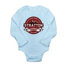 Stratton Red Long Sleeve Infant Bodysuit
