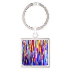 Transitions and Changes Square Keychain