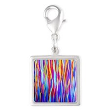 Transitions and Changes Silver Square Charm