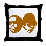 OLD SKOOL Throw Pillow