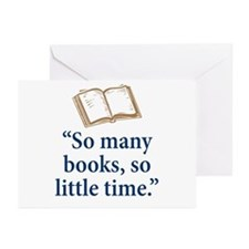 So many books - Greeting Cards (Pk of 20)