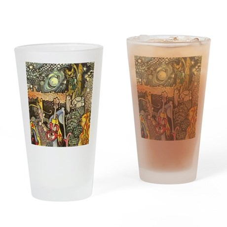 Home On The Range Cowboy InThe Dese Drinking Glass