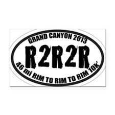 R2R2R Rectangle Car Magnet
