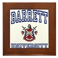 BARRETT University Framed Tile