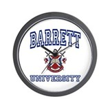 BARRETT University Wall Clock