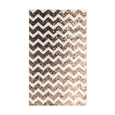 Glitter Bling Sparkly Chevron  Decal