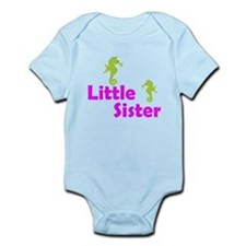 Little Sister Sea Horse Body Suit