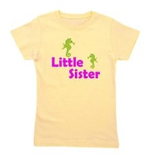 Little Sister Sea Horse Girl's Tee