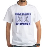 PROUD GRANDPA of TWINS Shirt