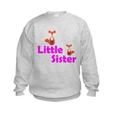 Little Sister Fox Sweatshirt