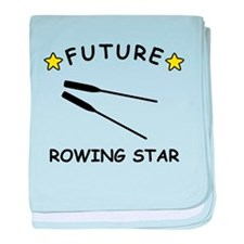 Future Rowing Star baby blanket