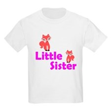 Little Sister Red Fox T-Shirt