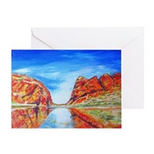 Outback Canyon Greeting Card