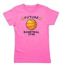 Future Basketball Star Girl's Tee