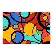 Pop Art Dots Postcards (Package of 8)