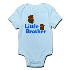 Little Brother Brown Bear Body Suit