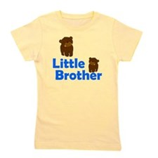 Little Brother Brown Bear Girl's Tee