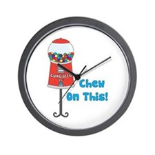 Chew On This! Wall Clock