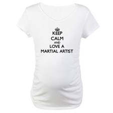 Keep Calm and Love a Martial Artist Shirt
