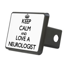 Keep Calm and Love a Neurologist Hitch Cover