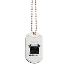 Write on Dog Tags