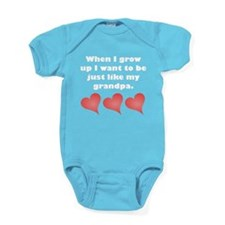 Just Like My Grandpa Baby Bodysuit