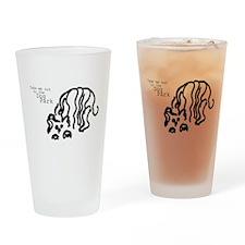 Dog Park Drinking Glass