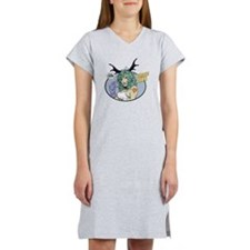 Fearless Dawn EYES UP HERE Women's Nightshirt