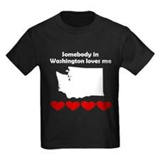 Somebody in Washington Loves Me T-Shirt