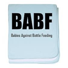 BABF Babies Against Bottle Feeding baby blanket