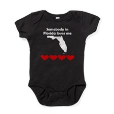 Somebody in Florida Loves Me Baby Bodysuit