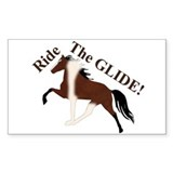 SSH Ride the GLIDE! Rectangle Decal