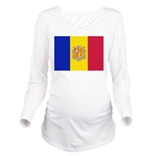 Andorra Long Sleeve Maternity T-Shirt