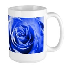 Blue rose Mugs