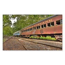 Classic Train Cars Decal
