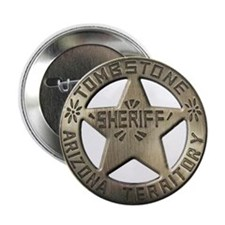 "Tombstone Sheriff 2.25"" Button (10 pack)"