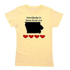 Somebody in Iowa Loves Me Girl's Tee