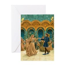 Dancing Princesses Greeting Card