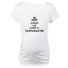 Keep Calm and Love a Telemarketer Shirt
