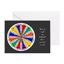 Oh Tannenbaum Mandala Card W/Msg