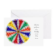 Oh Tannenbaum Mandala Card W/Msg Greeting Card