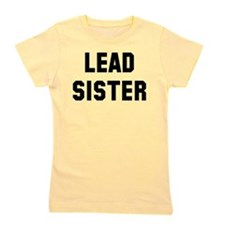 Lead Sister Girl's Tee