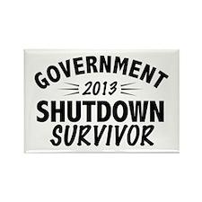 Government Shutdown Survivor Magnets