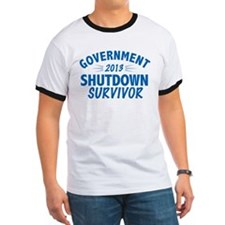 Government Shutdown Survivor T-Shirt