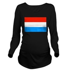 Luxembourg Long Sleeve Maternity T-Shirt
