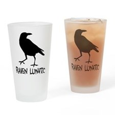 Raven Lunatic - Halloween Drinking Glass