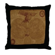 Steam Punk'd - Home Collection Throw Pillow