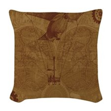 Steam Punk'd - Home Collection Woven Throw Pillow