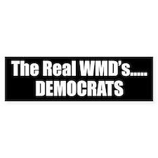 The Real WMD's Bumper Bumper Sticker