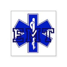 """EMT Logo Square Sticker 3"""" x 3"""""""